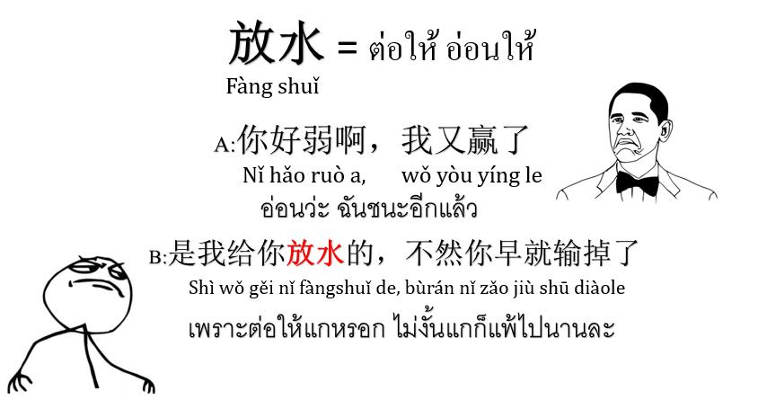 คำหยาบจีน